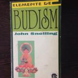 Elemente de budism (foto coperta+cuprins)