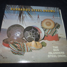 The Sun ISlanders Steel Orch. - Barbados Steel Drums _ vinyl,LP _ Merry Disc, VINIL