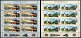Romania 2010, LP 1878 c, Orient Express, minicoli de 8+2 tabs, MNH! LP 73,84 lei, Transporturi, Nestampilat