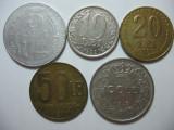 Romania (9): 5 Lei 1978, 10 Lei 1992, 20, 50 Lei 1991, 100 Lei 1943