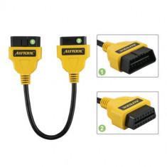 Autool prelungitor OBD2 30 cm extensie cablu tester interfata diagnoza