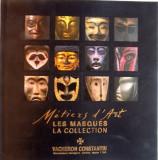 LES MASQUES LA COLLECTION de VACHERON CONSTANTIN, EDITIE BILINGVA FRANCEZA - ENGLEZA, 2009, CONTINE CD*
