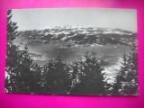 HOPCT 40253 Masivul Retezat VAZUT DIN PARANG IN 1956-JUD HUNEDOARA-RPR-CIRCULATA