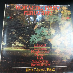 DISC VINIL  ROMANTIC PIANO MINIATURES