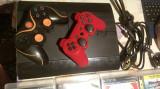 Playstation 3 PS3 super slim 12GB-500GB 2 controler pachet 10 jocuri oiginale