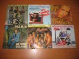 "Lot 25 discuri vinil single 7"" cu muzica pop/rock"