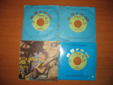 "Lot 9 discuri vinil single 7"" AREITO"