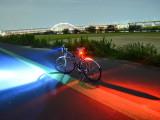 Set far si stop pentru bicicleta, 2 moduri de functionare, Faruri si semnalizatoare