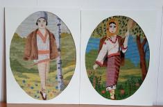 Pereche Ciobanas si Ciobanita foto