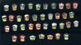 OBIECTIVE TURISTICE  din ROMANIA - Lot 37 Insigne - Colectie deosebita anii 1960