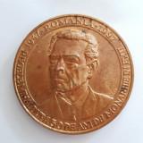 REGELE MIHAI-MEDALIA COMEMORATIVA 50 DE ANI DE MONARHIE IN EXIL-1947-1997