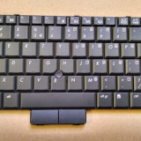 Tastatura laptop HP Compaq EliteBook 2510p 2530p 2533t Layout EN ANSI 510565-B31