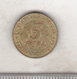 Bnk mnd Africa Centrala 5 franci 2006