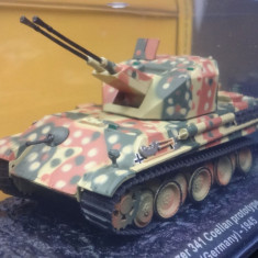 "Macheta tanc Flakpanzer 341 ""Coelian"" Prototype - Berlin - 1945 scara 1:72"