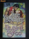 JUDE  DEVERAUX  -  UN  SARUT  DE  FOC  -  historical  romance