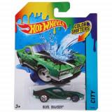 Masinuta BLVD. Bruiser Color Shifters Hot Wheels, Mattel