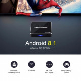 TV BOX  Alfawise A8, 4K-3D,Quade-core,2Gb ddr3,16gb,Wi-Fi,Android 8.1, NOU