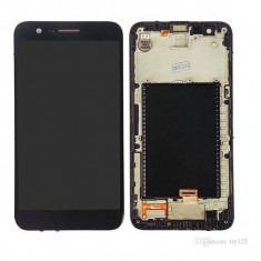 Display LG K10 (2017) Cu RAMA Negru