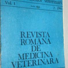 REVISTA ROMANA DE MEDICINA VETERINARA VOL. 1 / 2  1991
