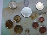 Italia -Set euro 2004-Contine si 5 euro 2004 Ag, Europa