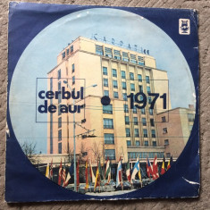 cerbul de aur 1971 Festivalul International disc vinyl lp compilatie muzica pop