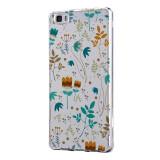 Husa Silicon, Transparent, Slim, Spirng Flowers, Xiaomi Mi6