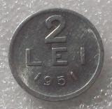 G5. Romania RPR 2 lei 1951 UNC **