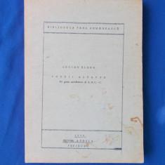 LUCIAN BLAGA - POEZII ALEAPTE (PRI GRAIU ARMANESCU DI CACIUPERI) -FREIBURG ,1973