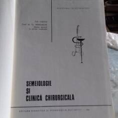 SEMIOLOGIE SI CLINICA CHIRURGICALA - FL. MANDACHE