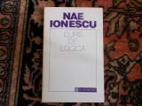 Nae Ionescu - Curs de logica, Nae Ionescu