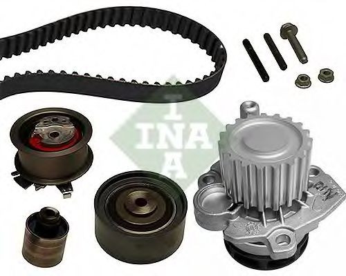 Set pompa apa + curea dintata VW JETTA III (1K2) (2005 - 2010) INA 530 0405 30