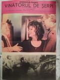 Afiș film, Vânătorul de șerpi, productie sovietica, comunism