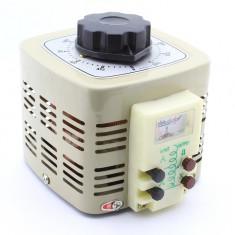 Autotransformator variabil, 500W, voltmetru analogic, TDGC2 - 111140