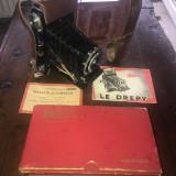 Nr. 589 Aparat foto foarte vechi in cutia originala Drepy.