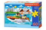 Puzzle Yacht in Sydney, 60 piese, castorland