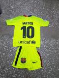 Echipament copii 4-16 ani FC BARCELONA,10 MESSI,MODEL NOU 2018-2019, YL, YXL, YXXL, Set echipament fotbal