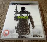 Joc Call of Duty Modern warfare 3, PS3, original, alte sute de jocuri!, Shooting, 18+, Single player, Activision