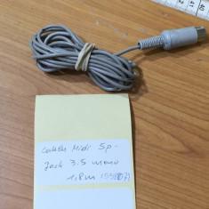 Cablu Midi 5p - Jack 3.5 mono 1,8m (55807)