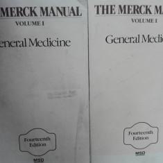 MERCK MANUAL 1982  volume 1