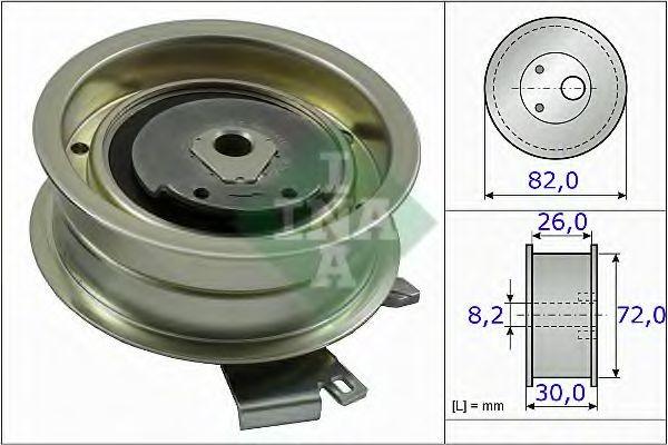 Rola intinzator,curea distributie VW GOLF VI Variant (AJ5) (2009 - 2013) INA 531 0203 20