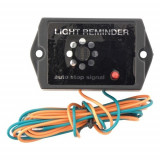 Avertizor sonor pentru lumini aprinse 6-12V, Universal