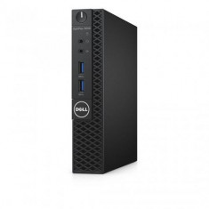 Sistem Desktop Dell OptiPlex 3050 Micro, Intel HD Graphics 630, RAM 4GB, HDD 500GB, Intel Core i3-7100T, Windows 10 Pro