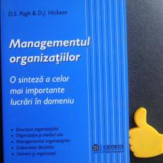 Managementul organizatiilor D S Pugh D J Hickson