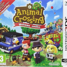 Animal Crossing New Leaf Welcome Amiibo Nintendo 3Ds