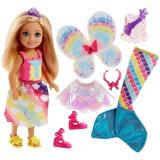 Papusa Barbie Chelsea Dreamtopia cu accesorii