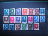 ROMANIA 1940 - 1945 / TIMBRE 22 VALORI NESTAMPILATE  / MNH REGELE MIHAI, Nestampilat