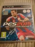Joc Pro evolution soccer 2015, PES, PS3, original, alte sute de jocuri!, Sporturi, 3+, Multiplayer