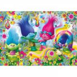 Puzzle maxi Trolls, 24 piese, Clementoni