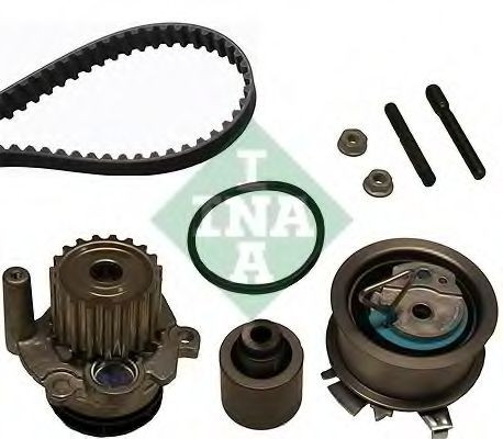 Set pompa apa + curea dintata VW BORA (1J2) (1998 - 2005) INA 530 0201 32