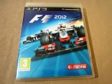 Formula 1, F1 2012 PS3, original! Alte sute de jocuri, Curse auto-moto, 12+, Multiplayer, Codemasters